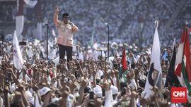Prabowo Tinggalkan GBK Saat Video Rizieq di Makkah Diputar