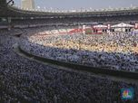 Kumpulan Massa yang Menyemut di Kampanye Akbar Prabowo-Sandi
