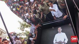 Saat Jokowi Berhadapan dengan 'Jokowi' di Arena Kampanye