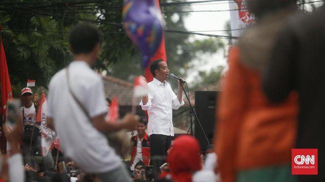 Jokowi Sebut Karnaval Kampanye di Tangerang Bentuk Keragaman