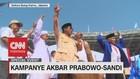 Ajak Massa Dengarkan Pesan Habib Rizieq, Prabowo Pekik Takbir