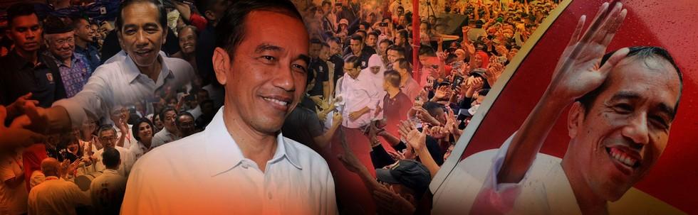 Karnaval Indonesia Jokowi-Ma'ruf