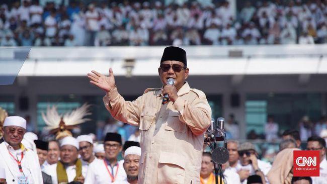 Prabowo Kampanye di Palembang, Jembatan Ampera Ditutup