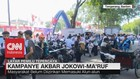 Persiapan Kampanye Akbar Jokowi-Ma'ruf di Kota Tangerang