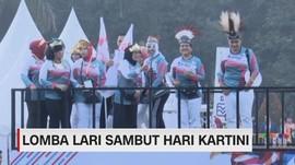 VIDEO: Lomba Lari Sambut Hari Kartini
