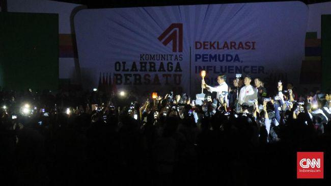 Jokowi Jawab Tudingan Prabowo soal Kondisi Ibu Pertiwi