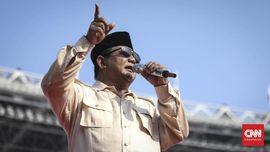Prabowo: Kita Ingin Pertumbuhan Ekonomi 'Double Digit'