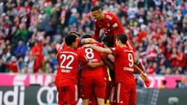 Bayern Munchen Tumpas Perlawanan Borussia Dortmund 5-0