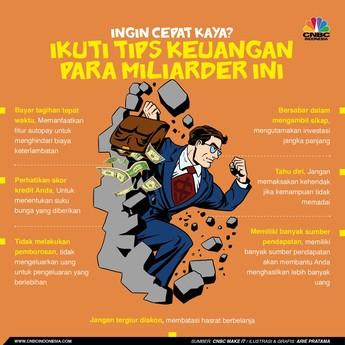 Cara Cepat Kaya dari Para Miliarder, Simak!