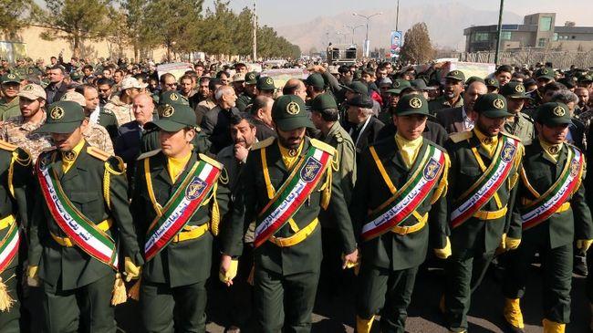 Trump Umumkan Pasukan Elite Iran Masuk Daftar Teroris
