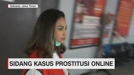 VIDEO: Vanessa Tampak Segar Kembali Jalani Sidang