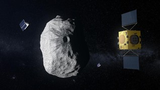 Jepang Temukan Air di Asteroid