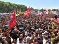 Kampanye Jokowi, Buruh Ramaikan Bandung Warga Solo Antusias