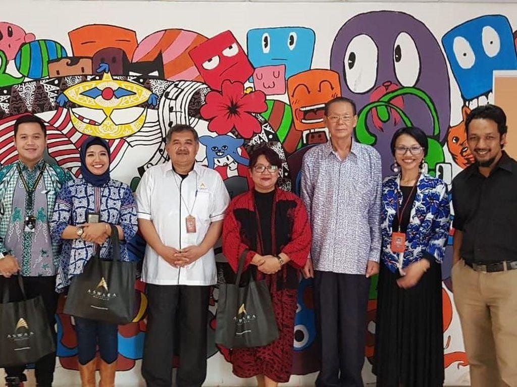 Aswara adalah kampus yang berada di bawah Kementerian Pelancongan dan Kebudayaan Malaysia atau di Indonesia dikenal sebagai Kementerian Pariwisata. Di sinilah lahir karya-karya komunikasi bangsa Malaysia, seperti serial kartun Ipin Upin yang telah mendunia. Mareta Maulidiyanti/Kepala Humas Vokasi UI.