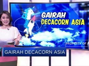 Gairah Decacorn di Benua Asia