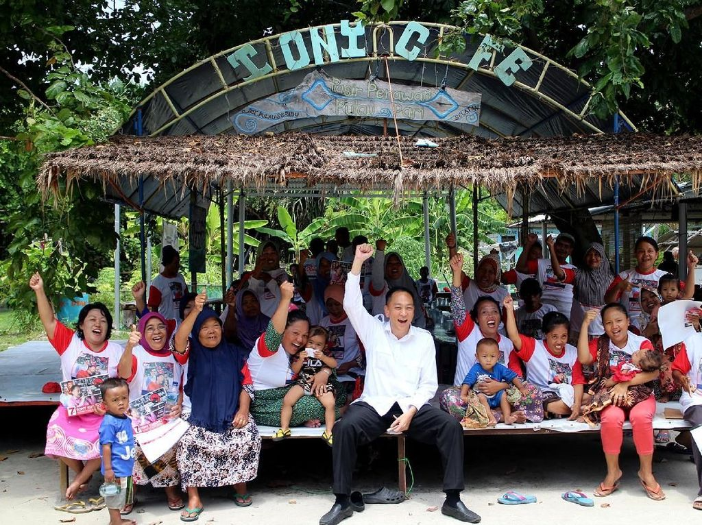 Kunjungan ini dilakukan untuk menjaring aspirasi masyarakat dan upaya pemenangan dirinya sebagai caleg dari Dapil 3 DKI Jakarta dan juga Jokowi-Maaruf Amin dalam Pilpres 2019. Foto: dok. PDIP