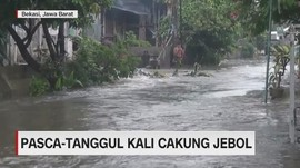 VIDEO: Pasca Tanggul Kali Cakung Jebol