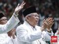 Ma'ruf Ungkap Jasa Jokowi Perlakukan Ulama dalam Politik