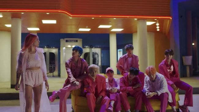 Sambut Album Baru, BTS Rilis Video Musik 'Boy With Luv'