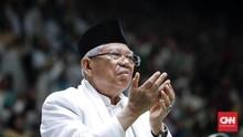 Ma'ruf Amin Ingatkan Guru Ngaji Tak Ajarkan Radikalisme