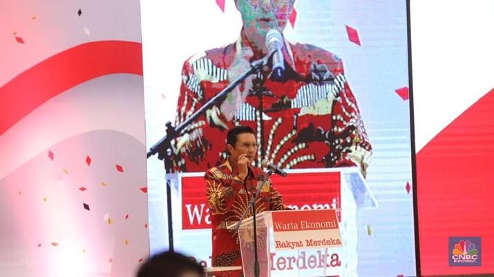 Fadel Muhammad (CNBC Indonesia/Muhammad Sabki)
