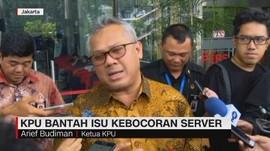 VIDEO: KPU Bantah Isu Kebocoran Server