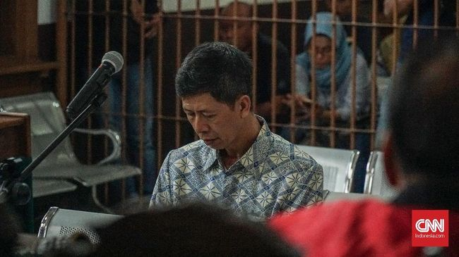 Eks Kalapas Sukamiskin Divonis 8 Tahun Penjara