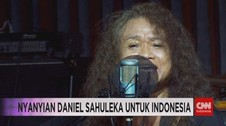 VIDEO: Nyanyian Daniel Sahuleka untuk Indonesia