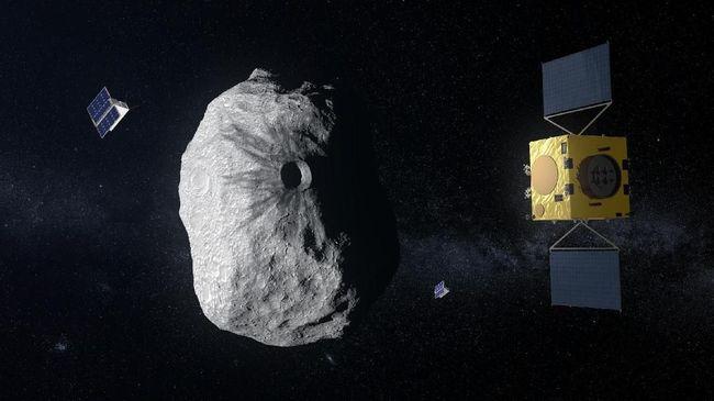 Pesawat Antariksa Otonom Dibuat, Cegah Asteroid Tabrak Bumi