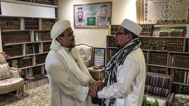 Rizieq Sebut Kampanye Prabowo Luapan Ekspresi Umat Islam