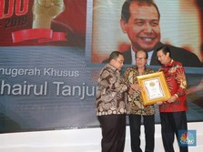 CT dan 12 Menteri Terima Penghargaan Tokoh Pers Visioner