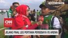 VIDEO: Keseruan Bonek Jelang Final Leg I Persebaya Vs Arema