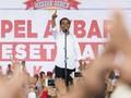 Jokowi di Hadapan Ribuan Buruh Janji Revisi PP Pengupahan