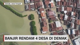 VIDEO: Banjir Rendam 4 Desa di Demak