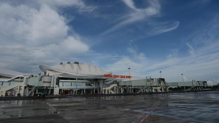 Intip Megahnya Terminal Bandara Tjilik Riwut Palangkaraya