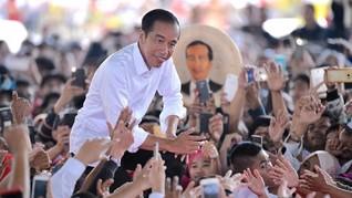 Gema Ucapan Selamat Ulang Tahun ke-58 Jokowi