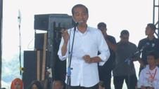 VIDEO: Jokowi Targetkan Perolehan Suara 60 % di Jawa Barat