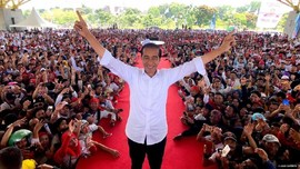 Jokowi Unggul Selisih 100 Suara dari Prabowo di Myanmar