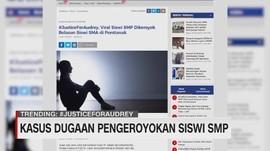 VIDEO: Kasus Dugaan Pengeroyokan Siswi SMP