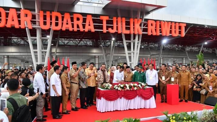 Diresmikan Jokowi, Ini Terminal Bandara Tjilik Riwut Rp 700 M
