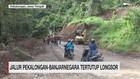 VIDEO: Jalur Pekalongan-Banjarnegara Tertutup Longsor
