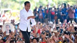 Rekapitulasi Nasional Usai, Jokowi 55,41 Prabowo 44,59 Persen