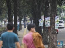 Penuh Sesak Pemandangan Alat Peraga Kampanye Jelang Pemilu
