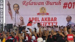Presiden KSPSI Instruksikan Buruh Coblos Jokowi