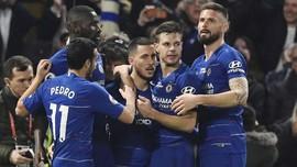 FOTO: Eden Hazard Bawa Chelsea ke Zona Liga Champions