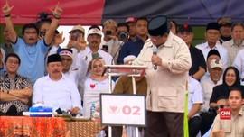 VIDEO: Gebrak Podium, PDIP Nilai Prabowo Temperamental