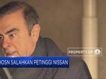 Ghosn Salahkan Petinggi Nissan
