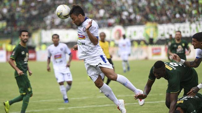 Jadwal Siaran Langsung Liga 1 2019: Arema FC vs Persela