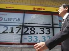 Khawatir Perang Dagang Tereskalasi, Bursa Saham Asia Melemah