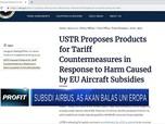Eropa Subsidi Airbus, Trump Siapkan Tarif Balasan